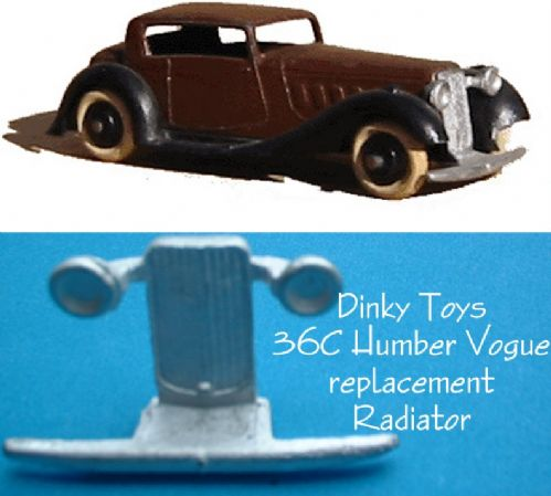 Dinky Toys 36C Humber Vogue Radiator Grille [ Each ]